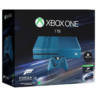 Imagem de CONSOLE XBOX ONE S/ KINECT 1TB + FORZA MOTORSPORT 6
