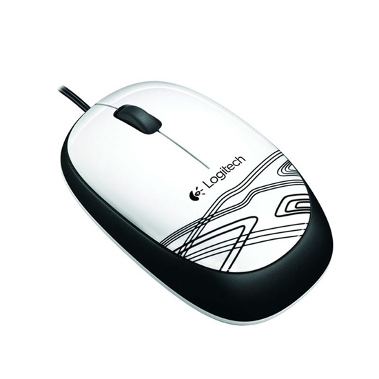Picture of MOUSE OPTICO COM FIO M165 BRANCO PIANO LOGITECH