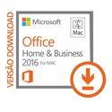 Imagem de OFFICE FOR MAC HOME AND BUSINESS 2016 DOWNLOAD