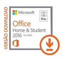 Imagem de OFFICE FOR MAC HOME AND STUDENT 2016 DOWNLOAD