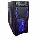 Imagem de GABINETE K-MEX GAMER PRETO C/ USB 2.0 C/ HD AUDIO, S/ FONTE - ATX / MICRO ATX / E-ATX