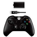 Imagem de CONTROLE XBOX ONE WIRELESS + KIT PLAY AND CHARGE