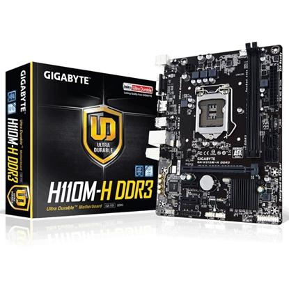 Imagem de MOTHERBOARD GIGABYTE PARA INTEL - H110 - GA-H110M-H DDR3
