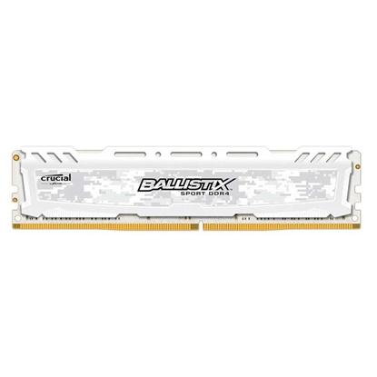 Imagem de MEMORIA DESKTOP BALLISTIX SPORT 16GB - DDR4 2400 MHZ - CL16 - PC419200 - UDIMM - BRANCA- MICRON