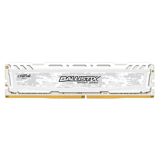 Picture of MEMORIA DESKTOP BALLISTIX SPORT 16GB - DDR4 2400 MHZ - CL16 - PC419200 - UDIMM - BRANCA- MICRON