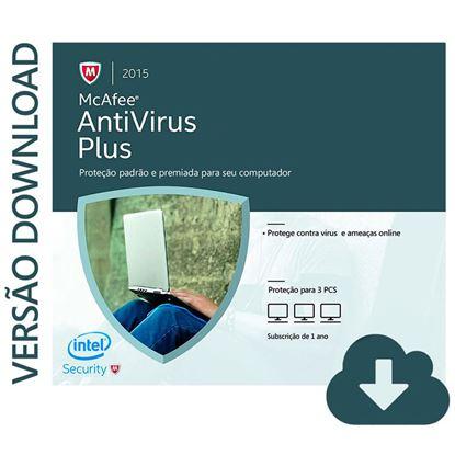 Imagem de MCAFEE ANTIVIRUS 3 COMPUTADORES DOWNLOAD