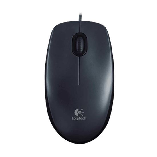 Picture of MOUSE USB COM FIO M100 PRETO LOGITECH