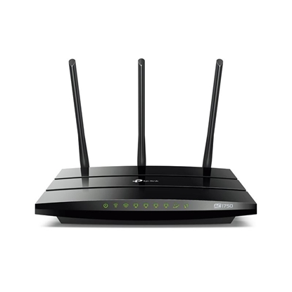 Imagem de ROTEADOR WIRELESS GIGABIT AC1750 - DUAL BAND - 3 ANTENAS - 4.0 - ARCHER C7