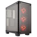 Imagem de GABINETE CORSAIR CRYSTAL 460X LED RGB - PRETO / ACRILICO / MID-TOWER - SEM FONTE