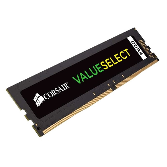 Picture of MEMÓRIA DESKTOP COSAIR VALUE SELECT 8GB - DDR4 2133 MHZ - C15 - 1X288 1.20V - UNBUFERRED - 15-15-15-36