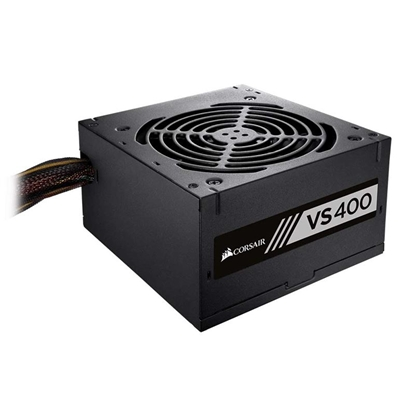 Imagem de FONTE CORSAIR VS400 PSU DE 400W 80 PLUS BRANCA