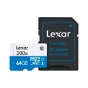 Imagem de CARTÃO DE MEMÓRIA MICRO SD COM ADAP. 16GB CLASSE 10- LEXAR
