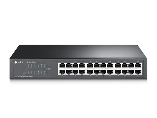 Picture of SWITCH FAST ETHERNET 10/100 - 24 PORTAS - TL-SF1024D