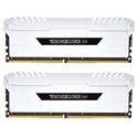 Imagem de MEMÓRIA DESKTOP CORSAIR VENGEANCE WHITE RGB 16GB [2X8GB] DDR4 3200MHZ - CMR16GX4M2C3200C16W