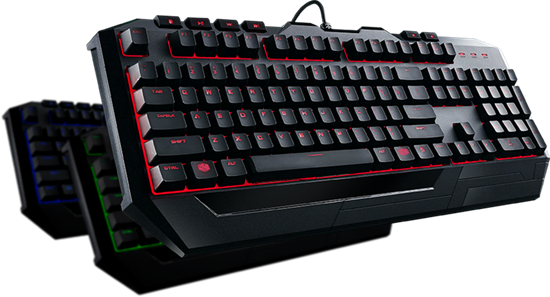 Picture of KIT TECLADO E MOUSE GAMER COOLERMASTER DEVASTATOR 3 - LED 7 CORES