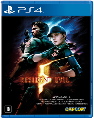 Imagem de RESIDENT EVIL 5 - PS4