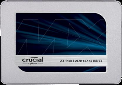 """Imagem de SSD CRUCIAL MX 500 - 250GB SATA 2,5"""" - 7MM [COM ADAPTADOR DE 9,5MM] - MICRON"""