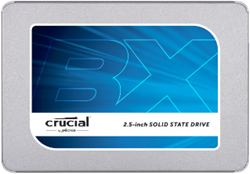 "Picture of SSD CRUCIAL BX300 -120GB SATA 2,5"" - 7MM [COM ADAPTADOR DE 9,5MM] - MICRON"