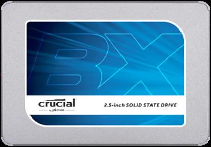"Imagem de SSD CRUCIAL BX300 -120GB SATA 2,5"" - 7MM [COM ADAPTADOR DE 9,5MM] - MICRON"