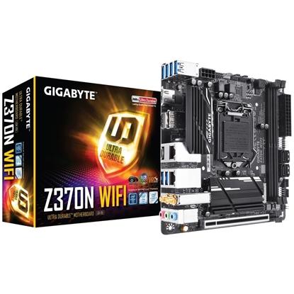 Imagem de MB P/INTEL, LGA1151 8ª GERAÇÃO, CHIPSET H370, 32GB, 2 DDR4, MINI-ITX - H370N WIFI