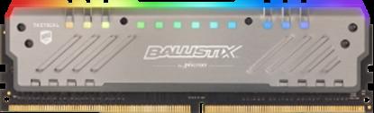 Imagem de MEMORIA DESKTOP BALLISTIX TRACER RGB 16GB DDR4 3000 MT/s [PC4-24000] CL16 DR x8 DIMM - MICRON