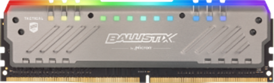 Picture of MEMORIA DESKTOP BALLISTIX TRACER RGB 16GB DDR4 3000 MT/s [PC4-24000] CL16 DR x8 DIMM - MICRON