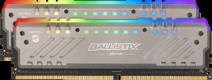 Imagem de MEMORIA DESKTOP BALLISTIX TRACER RGB 16GB KIT [8GBx2] DDR4 2666 MT/s [PC4-21300] CL16 SR x8 DIMM - MICRON
