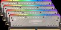 Imagem de MEMORIA DESKTOP BALLISTIX TRACER RGB 32GB KIT [8GBx4] DDR4 2666 MT/s [PC4-21300] CL16 SR x8 DIMM - MICRON