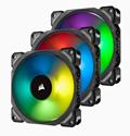 Imagem de COOLER FAN CORSAIR PWM ML120 PRO RGB 120MM - KIT COM 3 VENTOINHAS E O LIGHTING NODE PRO - CO-9050076-WW