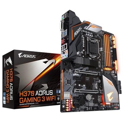 Imagem de MB P/INTEL, LGA1151 8ª GERAÇÃO, CHIPSET H370, 64GB, 4 DDR4, ATX - H370 AORUS GAMING 3
