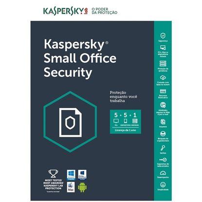 Imagem de KASPERSKY SMALL OFFICE SECURITY 1 USUARIO + 1 ANO BR DOWNLOAD 25 A 49 USUARIOS - COMPRA MINIMA 25 UNIDADES