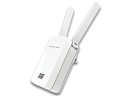 Imagem de MERCUSYS REPETIDOR DE SINAL WIRELESS N 300MBPS - MW300RE