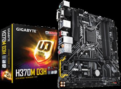 Imagem de MB P/INTEL, LGA1151 8ª GERAÇÃO, CHIPSET H370, 64GB, 4 DDR4, uATX - H370M D3H