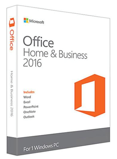 Picture of OFFICE MAC HOME AND BUSINESS 1PK 2016 BRAZILIAN