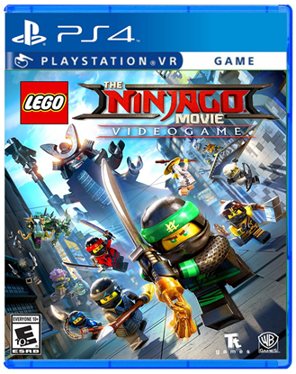 Imagem de LEGO NINJAGO MOVIE GAME PS4