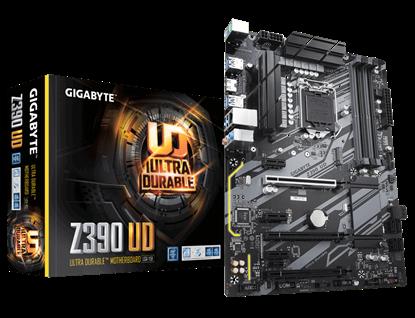 Imagem de MOTHERBOARD P/ INTEL, LGA1151 9ª GERAÇÃO, CHIPSET Z390 UD,  DDR4, PCI-E