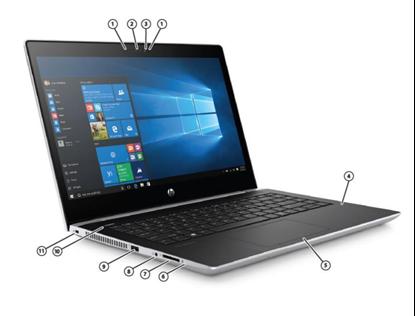 """Imagem de NOTEBOOK HP 440 G5 - I7-8550U - 8GB DDR4 2400MHZ - HD 500 GB - TELA 14"""" - WIN 10 PRO 64"""