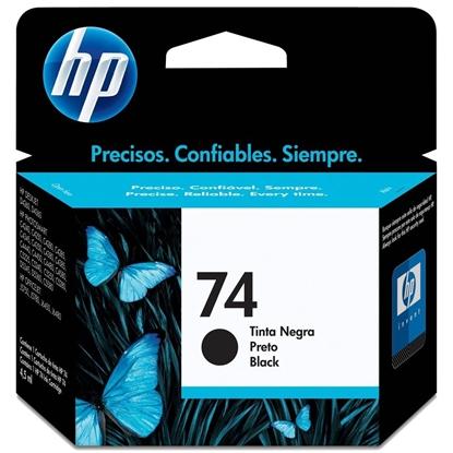 Imagem de CARTUCHO DE TINTA HP 74 - 4,5ML PRETO - CB335WB