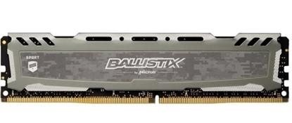 Imagem de MEMORIA BALLISTIX SPORT LT GREY 8GB DDR4 2666 MT/S [PC4-21300] CL16 SR x8 Unbuffered DIMM 288pin