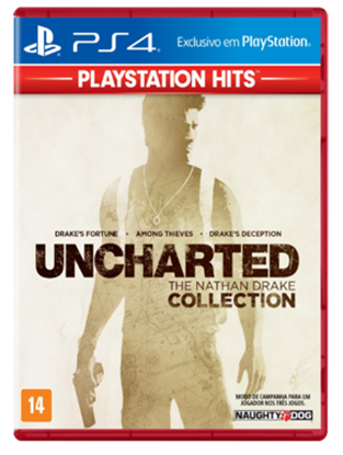 Imagem de UNCHARTED THE NATHAN DRAKE COLLECTION HITS PS4