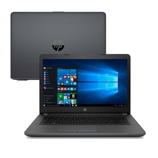 """Picture of NOTEBOOK HP 240 G6 - I3 6006U - 4GB DDR4 2133MHZ - HD 500 GB  - TELA 14"""" WIN 10 PRO 64 - 1 ANO"""