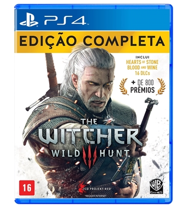 Imagem de THE WITCHER 3 COMPLETE EDITION PS4
