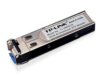 Imagem de TP-LINK MÓDULO SFP BI-DIRECIONAL WDM - 1000BASE-BX - 10 KM - TL-SM321A - PAR COM O TL-SM321B