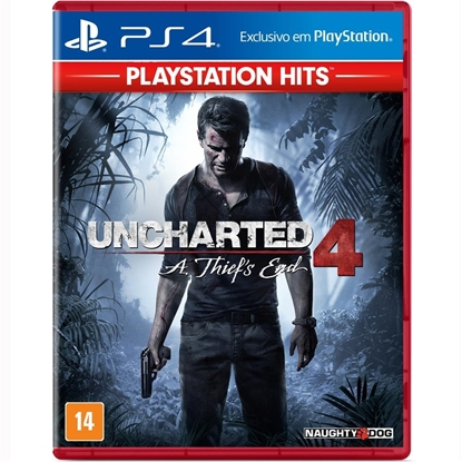 Imagem de UNCHARTED 4 A THIEF´S END HITS PS4
