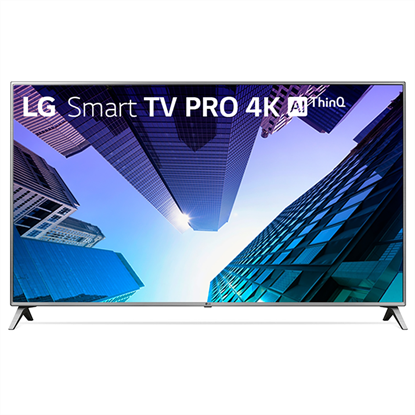 "Imagem de TV LG 75"" SMART PRO 4K AI UHD 75UK651C MODO CORPORATE HOTEL 4HDMI 2USB"