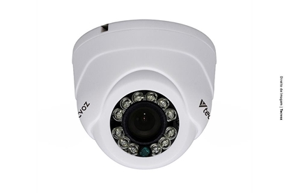 Imagem de DM128MP           CAMERA FLEX HD MINI DOME 1M LENTE 2,8MM IR ATE 15M IP66 TECVOZ DM128MP