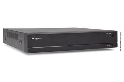 Imagem de DVR [GRAVADOR, REPRODUTOR, EDITOR DE VIDEO E AUDIO]; H.265+ SERIE E 1080N; 8 CANAIS; AUDIO; RS-485; HDMI/VGA/CVBS; 1 SATA. TECVO