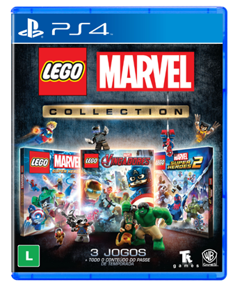 Imagem de LEGO MARVEL COLLECTION BR PS4
