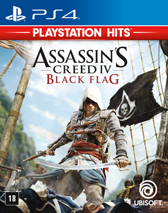 Imagem de ASSASSIN´S CREED IV BLACK FLAG PS4