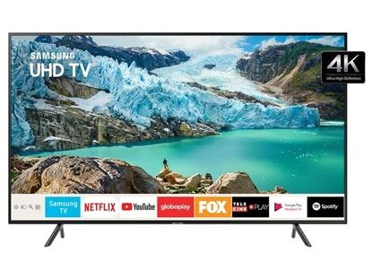 """Imagem de SAMSUNG  SMART TV UHD 4K 75"""" RU7100 VISUAL LIVRE DE CABOS, BLUETOON"""